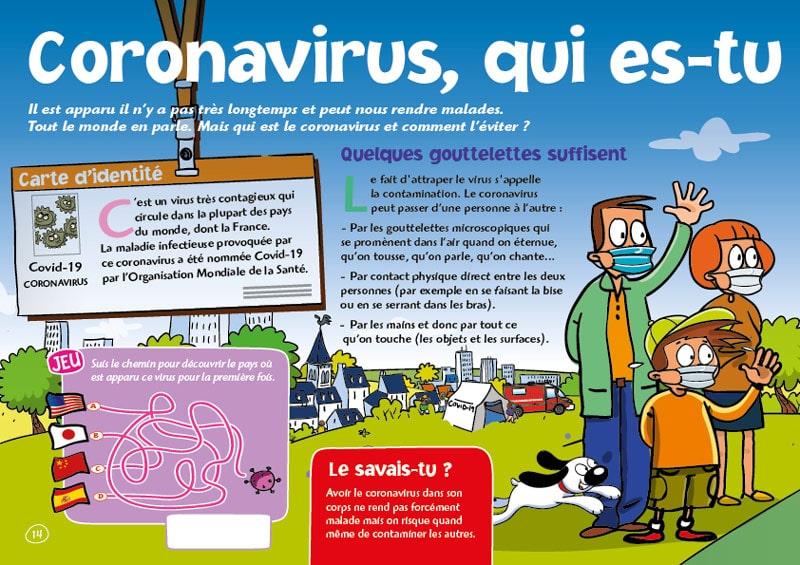 Exemple de page du magazine Petit Gibus